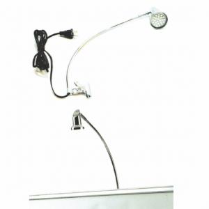 LED retractable banner light