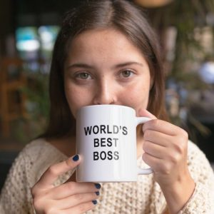 Ceramic Mug - World's best boss