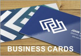Business cards available from Swifty Print