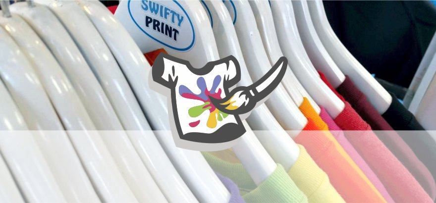 Direct to garment printing at Swifty Print