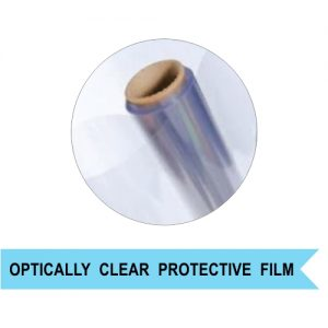 PET protective film on a roll sold by the foot