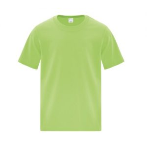 ATC1000Y Youth Everyday Cotton Tee in Lime Green