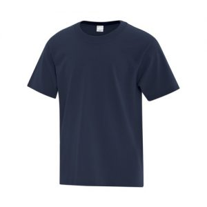 ATC1000Y Youth Everyday Cotton Tee in Navy Blue