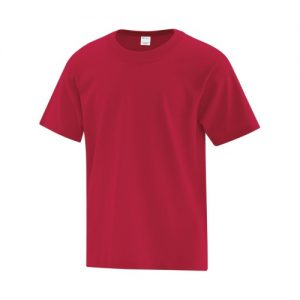 ATC1000Y Youth Everyday Cotton Tee in Red