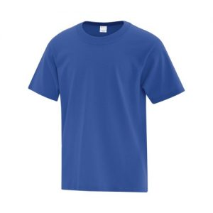 ATC1000Y Youth Everyday Cotton Tee in Royal Blue