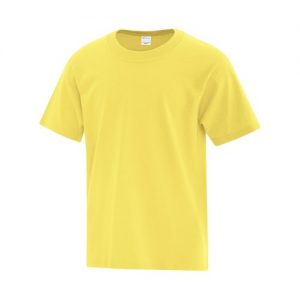 ATC1000Y Youth Everyday Cotton Tee in Yellow