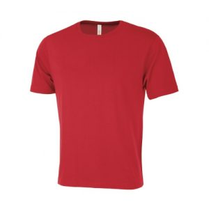 ATC8000 Euro Spun Unisex Tee in True Red colour