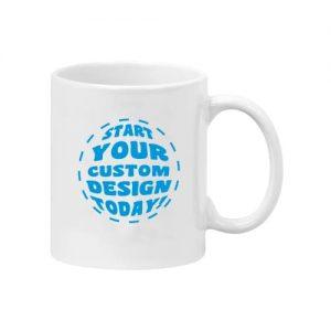 11oz White ceramic mug with custom print